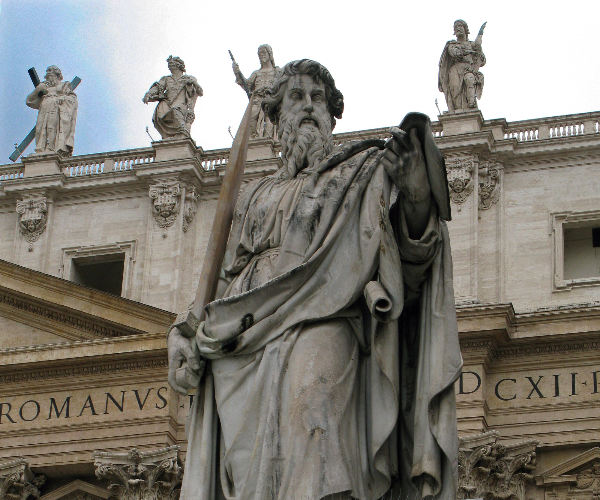 St Paul with Sword