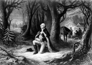 P_1866 George Washington Praying Valley Forge