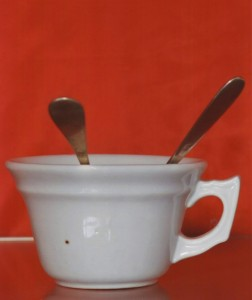 Cup used by Luisa