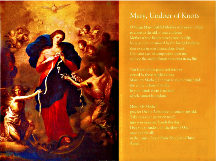 9  28 mary undoer of knots