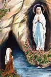 M_Lourdes w St Bernadette