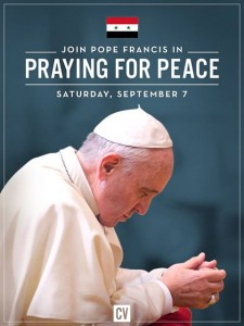 P_PopeFrancis Pray for Peace