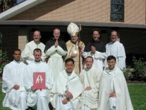 P_Bishop Raymond Burk and Canons 2002