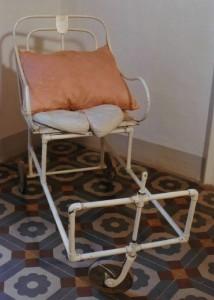 Wheelchair of Luisa